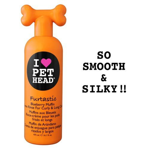 Pet Head Furtastic Creme Rinse for Curly and Long Coat