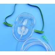 Oxygen Mask AirLife Adult Vinyl With 7Ft Tubing by CardinalHealth