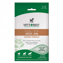 Dog Flea and Tick Spot-On Formula
