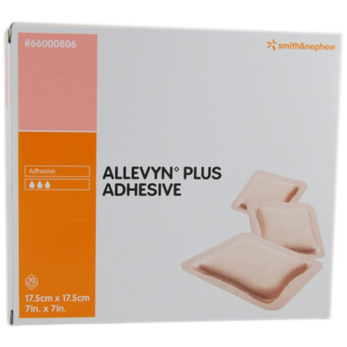 Smith and Nephew Allevyn 66000806 Plus Adhesive