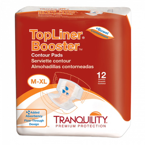 Tranquility TopLiner Booster Pads - Light Absorbency