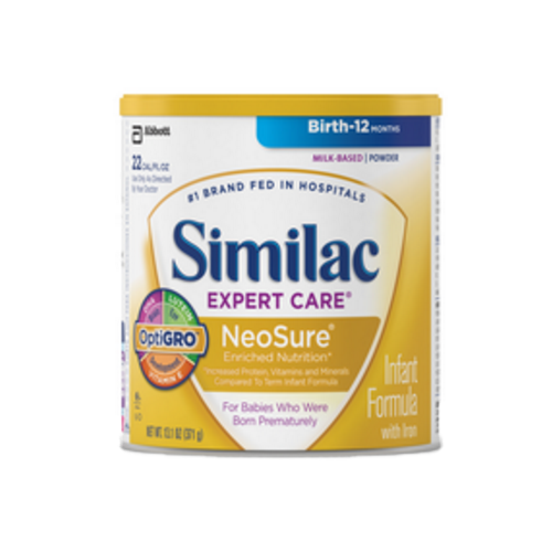 similac expert care neosure with optigro infant formula 4ba