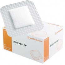 OpSite Post-Op 3-3/4 x 3-3/8 Inch Transparent Film Dressing 66000709