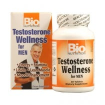 Bio Nutrition Testosterone Wellness for Men Dietary Supplement