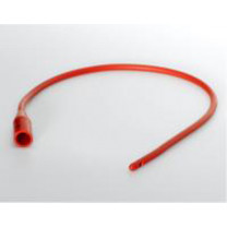 Dover Red Rubber Intermittent Urethral Catheter