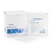 McKesson 4 x 4 Inch IV Drain Split Sponges 6 Ply Sterile - 16-42426
