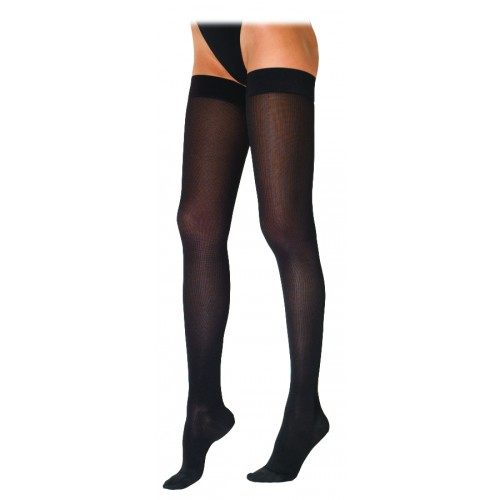 dc1f825d3 Sigvaris 230 Cotton Series Women s Thigh High Compression Stockings - 232N CLOSED  TOE 20-30