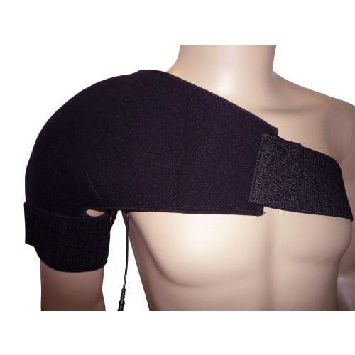 BioKnit Conductive Shoulder Brace w/ Fabric Electrodes
