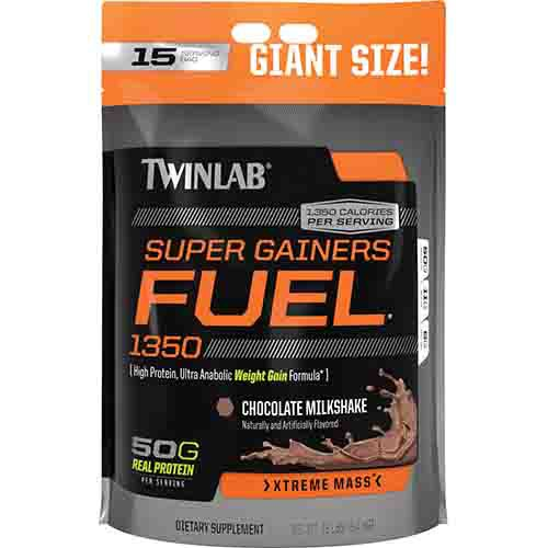 Super Gainers Fuel 1350 Muscle Building Supplement