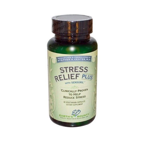 Earths Bounty Stress Relief Plus Dietary Supplement
