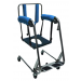 Commode Cushion Attached to BodyUp Evolution Transfer Lift Chair (chair sold separately)