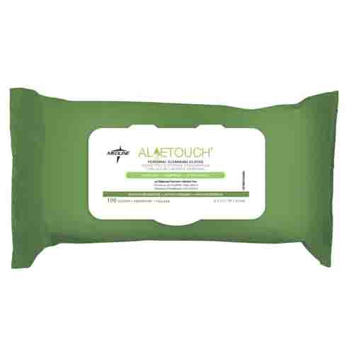 Aloetouch Personal Cleansing Cloths - Scented