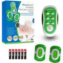 AccuRelief Wireless Remote Control TENS Pain Relief System