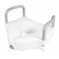 Classics Raised Toilet Seat with Armrests