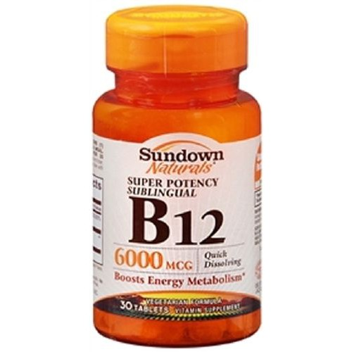 Sundown Naturals Vitamin B-12 Supplement