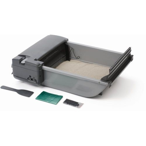 Deluxe SmartScoop Self-Scooping Litter Box