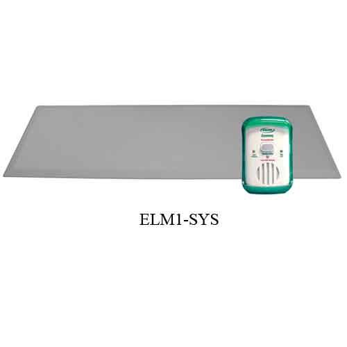fallguard economy alarm with bed alarm sensor pad dc0