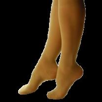 Shape to Fit Truly Sheer Fashion Knee High Stockings, 10-15 mmHg