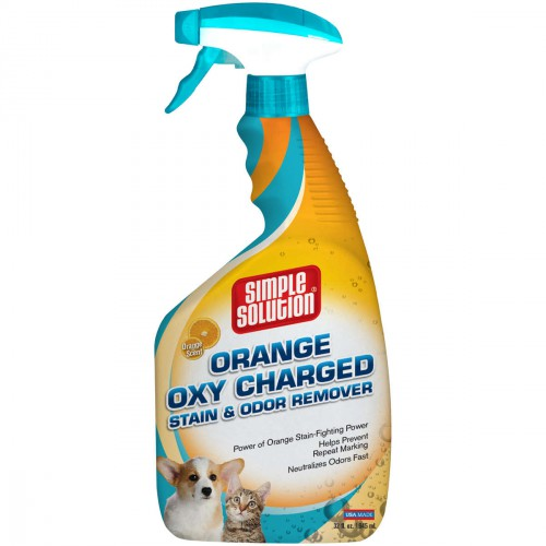 Orange Oxy Charged Stain and Odor Remover