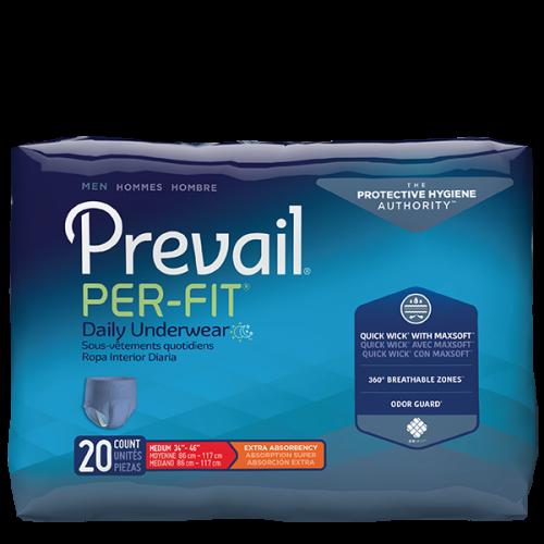 Prevail Per-Fit Men Packaging