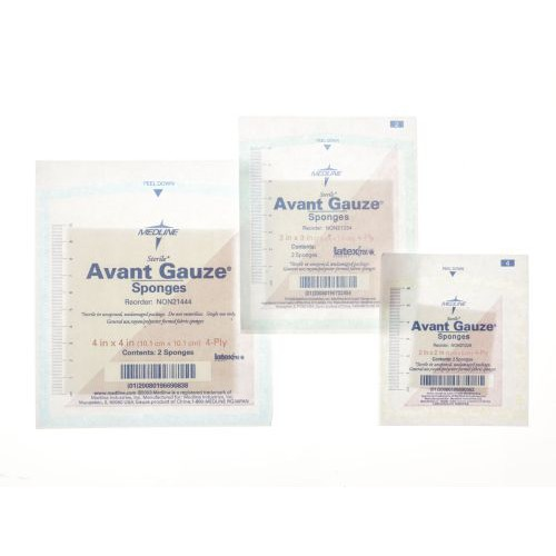 Medline Avant Gauze Sponges, Sterile