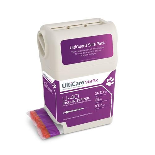 UltiCare VetRX U-40 Insulin Syringe
