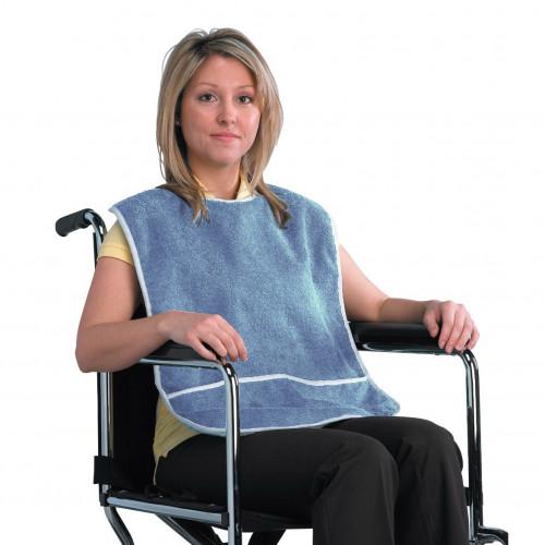 Drive Terry Cloth Crumb Catcher Clothing Protection Bib