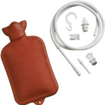 Jobar Hot Water Bottle System, With Tube, Pipe, Adaptor, Shut off Clamp and Hook