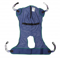 Mesh and Solid Full Body Patient Slings