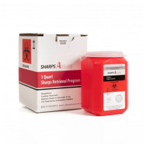 Sharps Assure 1-Gallon Sharps Retrieval Program