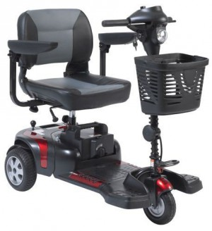 Drive Medical Phoenix 3 Wheel Heavy Duty Travel Scooter