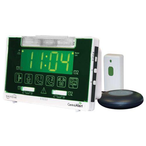 Serene Innovations CentralAlert CA-360 Clock/Receiver Notification System