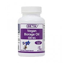 Deva Vegan Borage Oil 500 mg