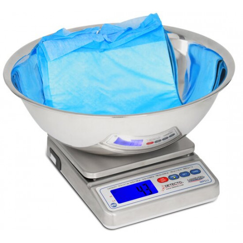Detecto Mariner Digital Scale with Utility Bowl