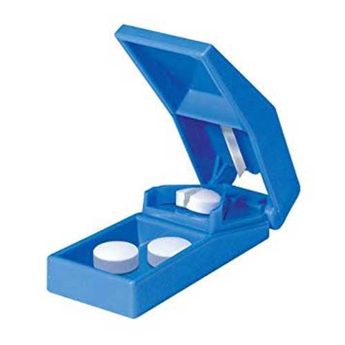 mckesson pill cutter hand operated blue  1b4