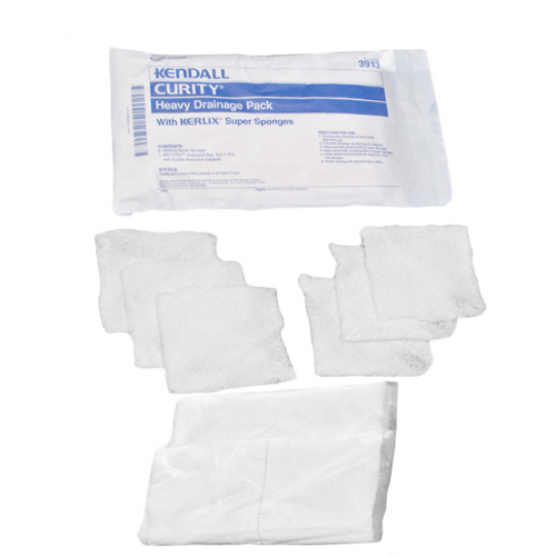 Covidien 3913 Curity 10 x 12 Inch Heavy Drainage Pack