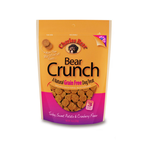 Grain Free Bear Crunch Turkey, Sweet Potato, Cranberry