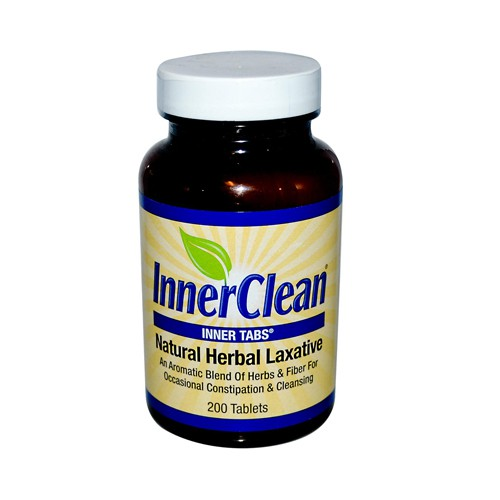 At Last Naturals InnerClean Inner Tabs Herbal Laxative
