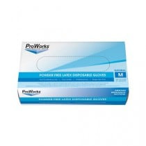 ProWorks Latex Powder-Free Disposable Gloves