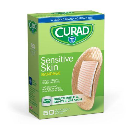 curad sensitive skin bandages latex free 74d