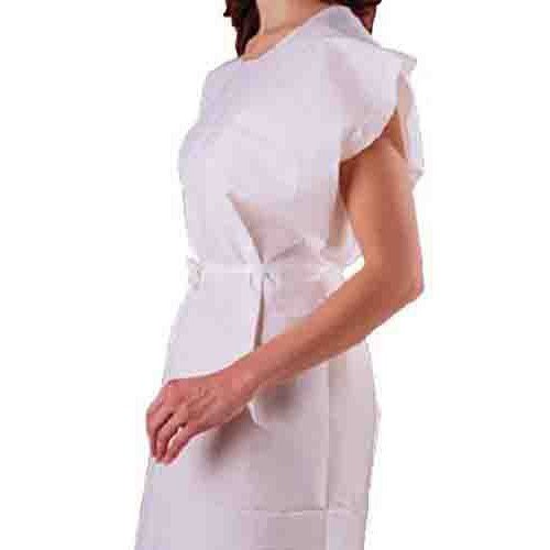 Mckesson Poly Tissue Exam Gown 18 10846