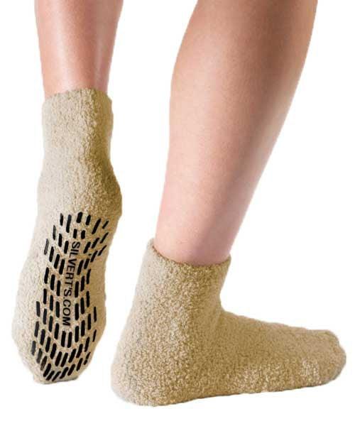Silverts Hospital Socks Non Skid Socks Non Slip Socks