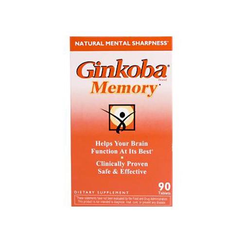 Pharmaton Natural Health Products Pharmatron Ginsana Ginkoba Memory