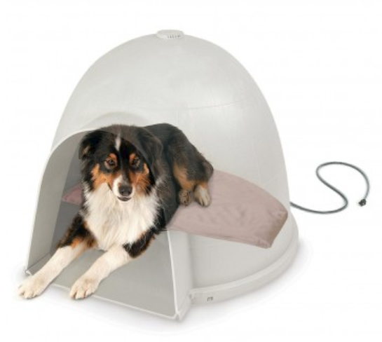kh pet products lectro soft igloo style bed and cover 319