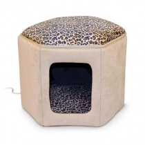 K&H Pet Products Thermo-Kitty Sleephouse - Heated and Unheated