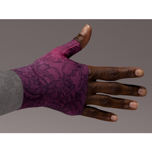 LympheDivas Lovely Lace Compression Gauntlet 30-40 mmHg