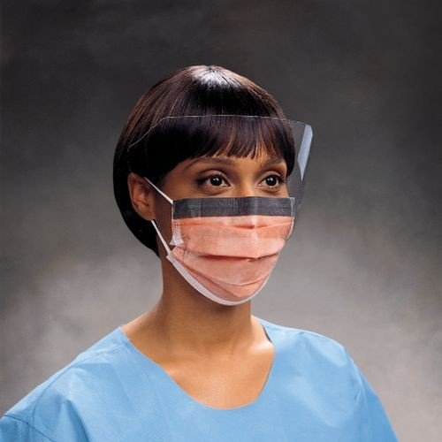 FluidShield Procedure Mask w/ Face Shield