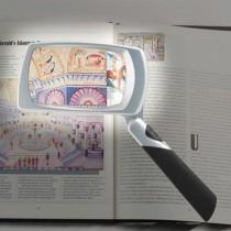 LED Lighted Rectangular Magnifier