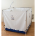 FAWSsit Fold-Away Bariatric Wheelchair Shower
