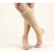 TRUFORM Classic Medical Knee High Support Stockings OPEN TOE 30-40 mmHg